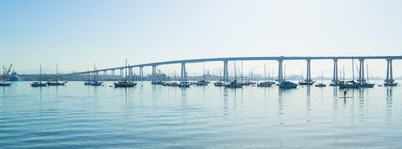 Ponticello di San Diego Coronado immagini stock