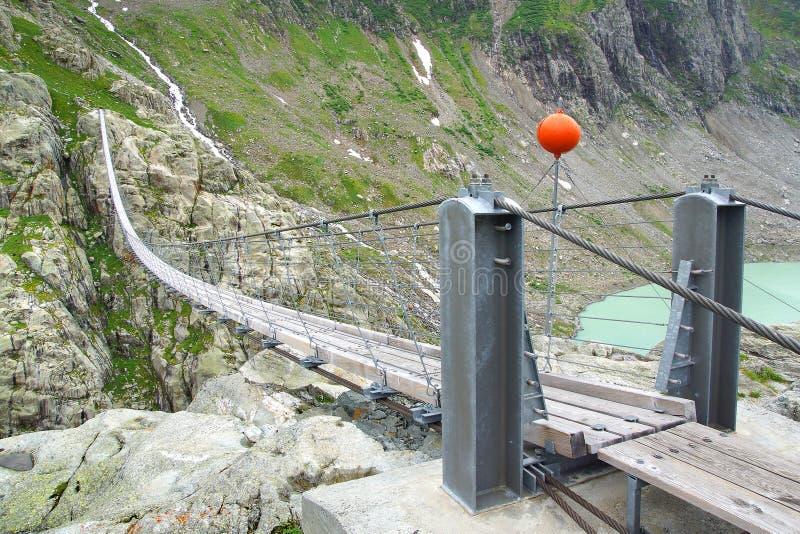 Ponticello di Trift switzerland fotografie stock