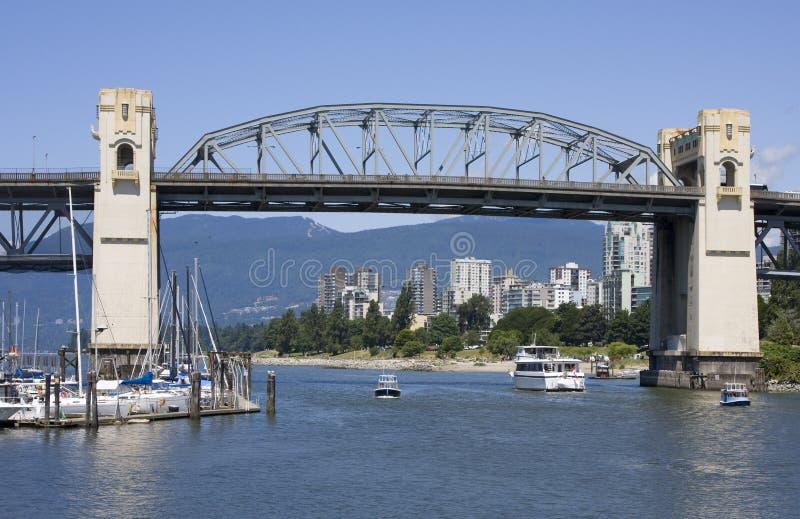 Ponticello di Vancouver immagini stock