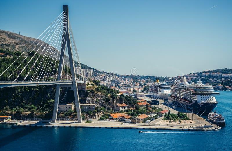Ponticello a Dubrovnik fotografie stock