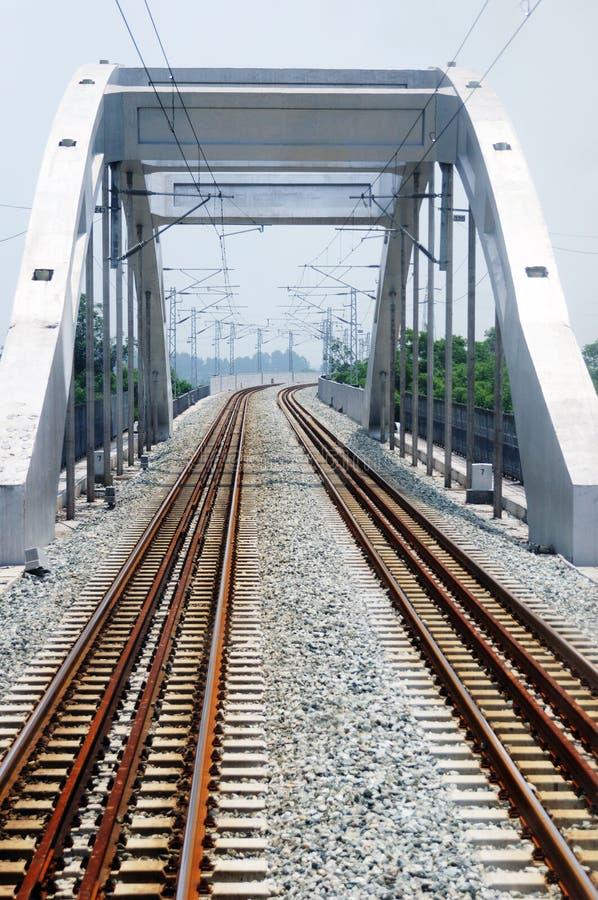 Ponticello ferroviario fotografia stock
