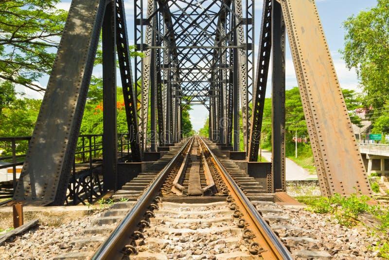 Ponticello ferroviario immagini stock