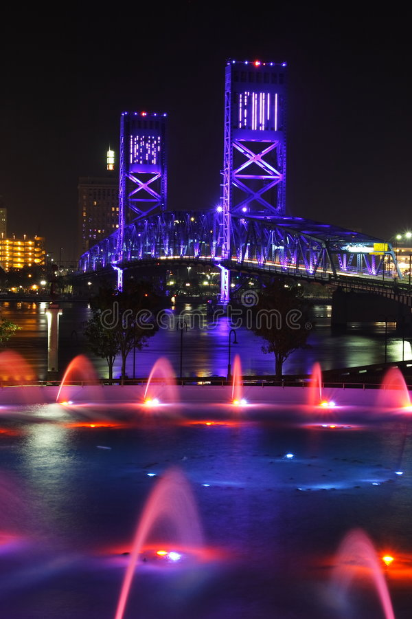 Ponticello a Jacksonville fotografia stock