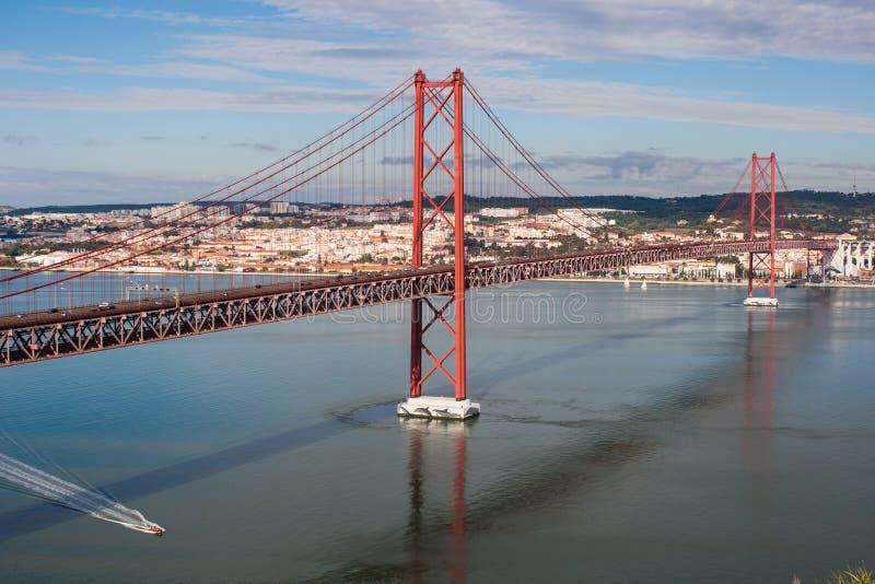Ponticello a Lisbona immagine stock libera da diritti
