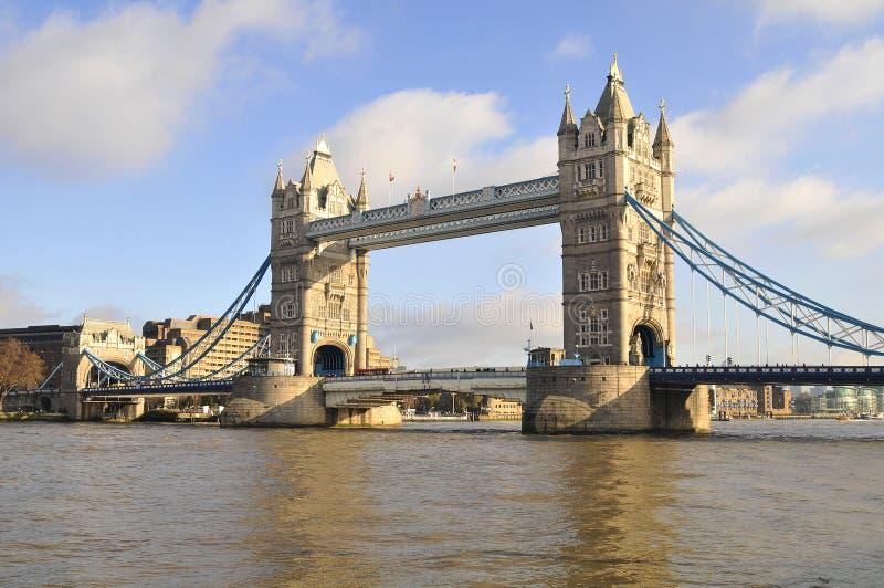Ponticello Londra della torretta immagini stock