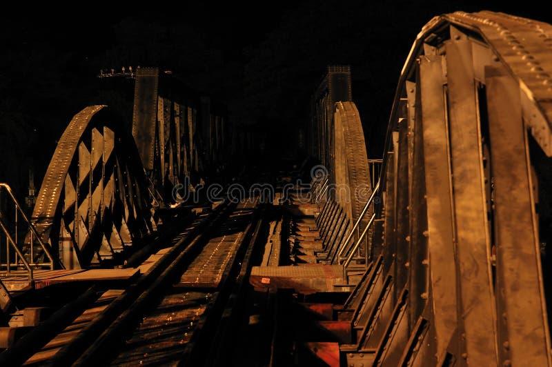 Ponticello sopra il fiume Kwai immagini stock libere da diritti