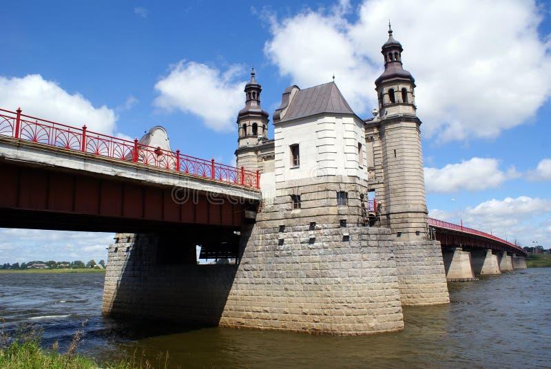 Ponticello sul fiume fotografia stock libera da diritti