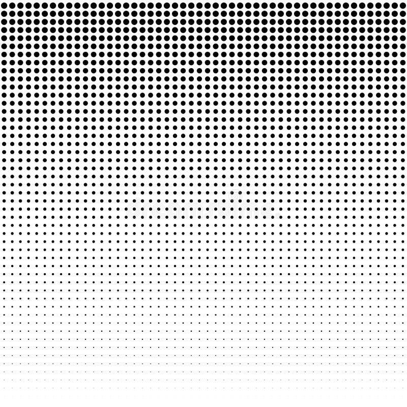 Pontilha o fundo Teste padrão moderno do vintage Contexto abstrato de Grunge Textura do pop art Vetor ilustração royalty free