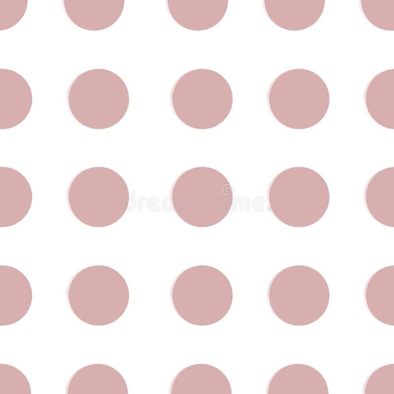 Pontilhado, PNF Art Background, PNF Art Pattern Fundo simb?lico da arte dos anos 60 Contexto redondo da arte do c?rculo Teste pad ilustração stock