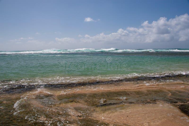 Ponto alto na praia de Ke'e imagens de stock royalty free