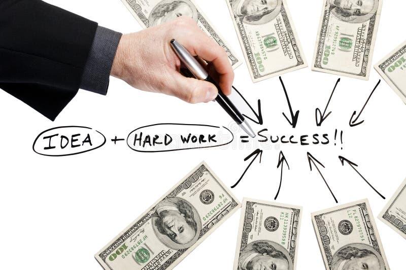 Download Ponto ao sucesso imagem de stock. Imagem de sucesso, businessman - 22980711