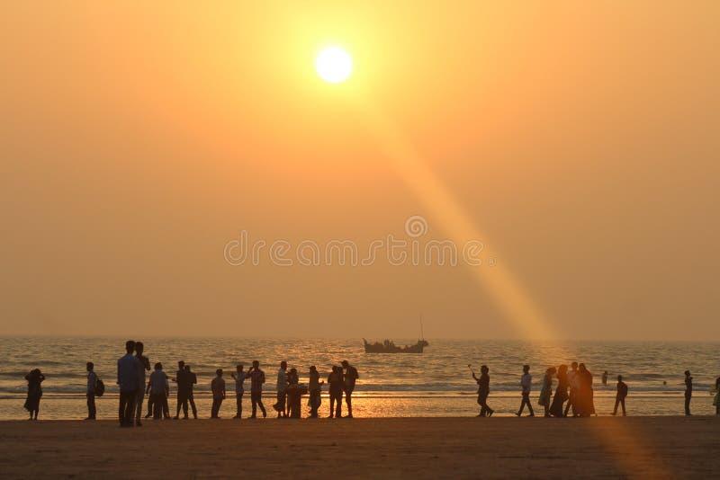 Ponto Bangladesh de Shuganda fotografia de stock