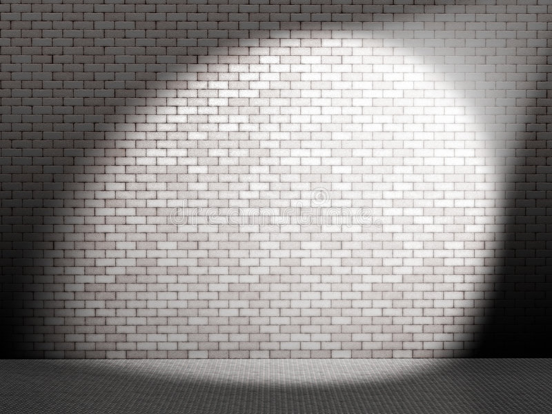 Ponto branco na parede