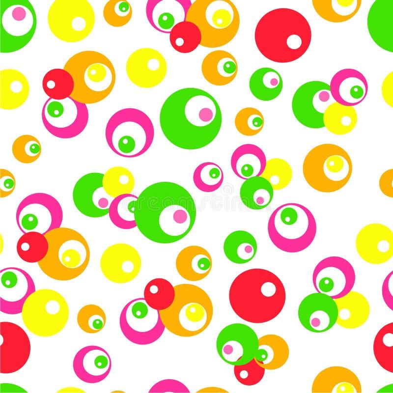 Ponto 6 da cor de água foto de stock