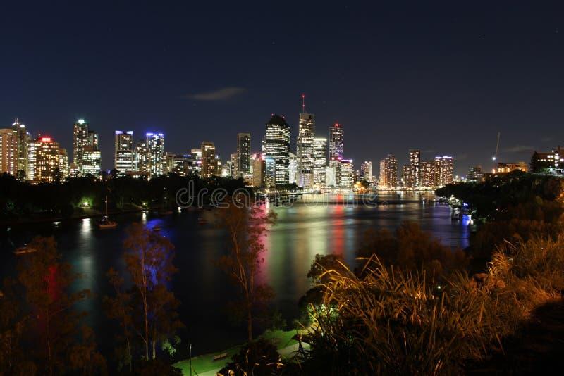 Ponto de Brisbane & de canguru fotos de stock royalty free
