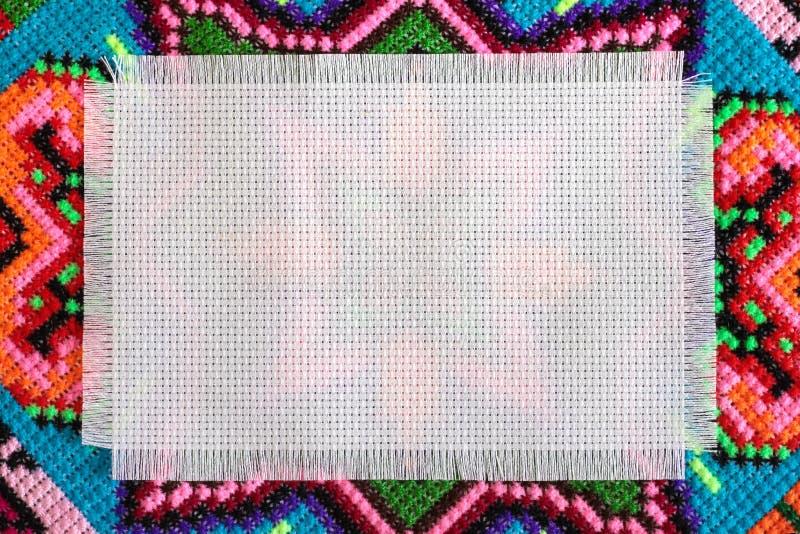 Ponto de cruz imagem de stock