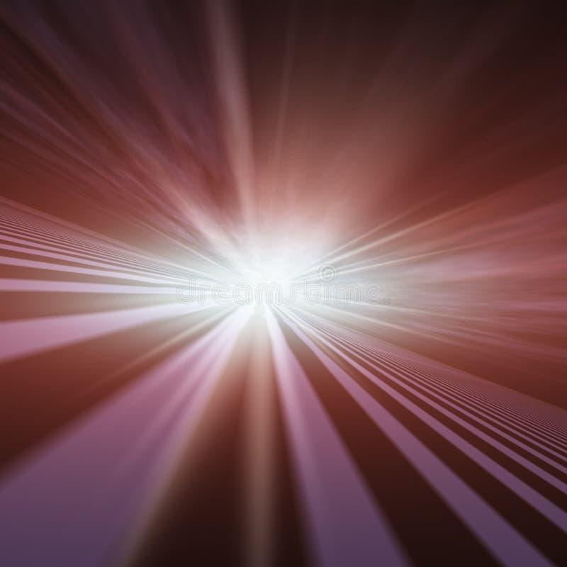 Ponto de desaparecimento da estrela instantânea ilustração stock