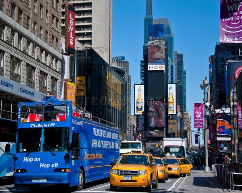 Ponto de turista dos Times Square imagem de stock royalty free