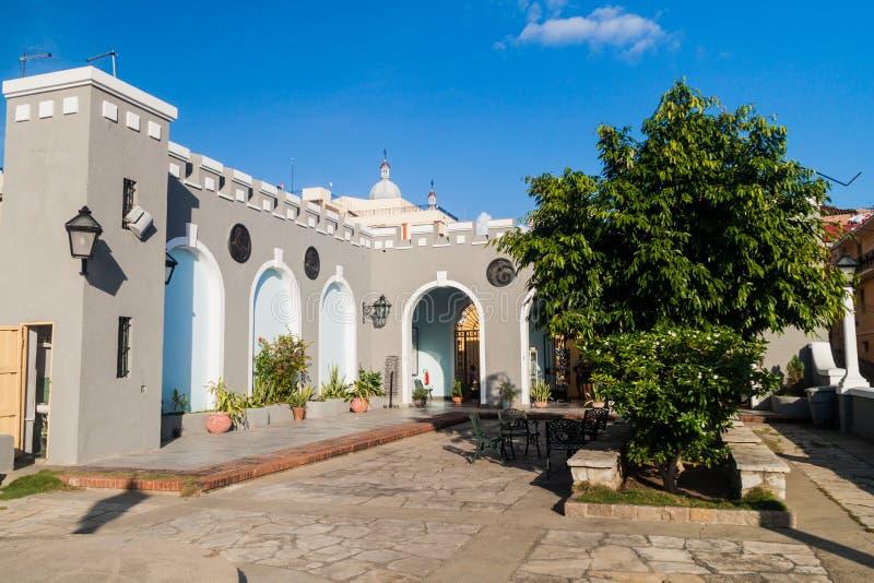 Ponto de vista de Balcon de Velázquez em Santiago de Cuba, Cu imagens de stock royalty free