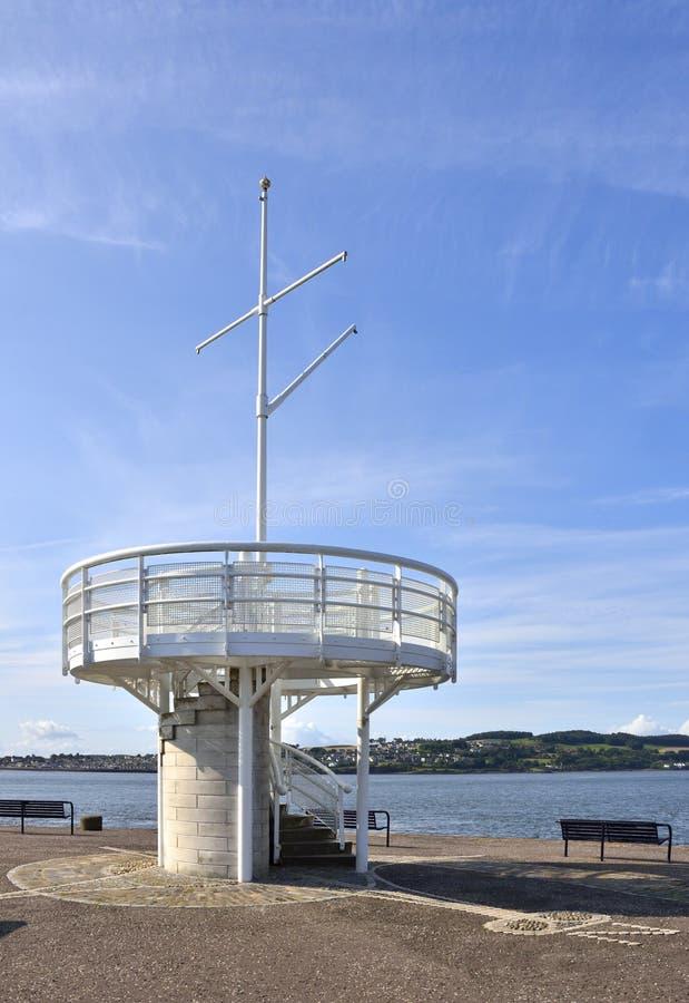 Ponto de vista cênico do porto escocês fotos de stock