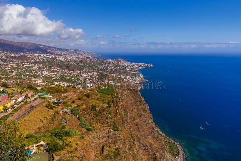 Ponto de vista de Cabo Girao - Madeira Portugal fotos de stock
