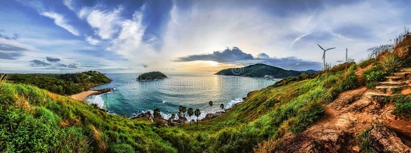 Ponto de vista de Phuket imagens de stock royalty free