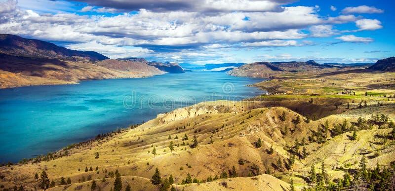 Ponto de vista em Savona no Columbia Britânica do LAK de Kamloops imagem de stock royalty free
