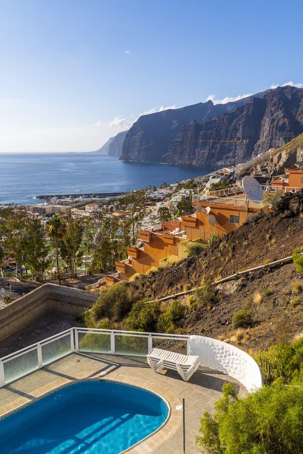 Ponto de vista em Tenerife fotografia de stock