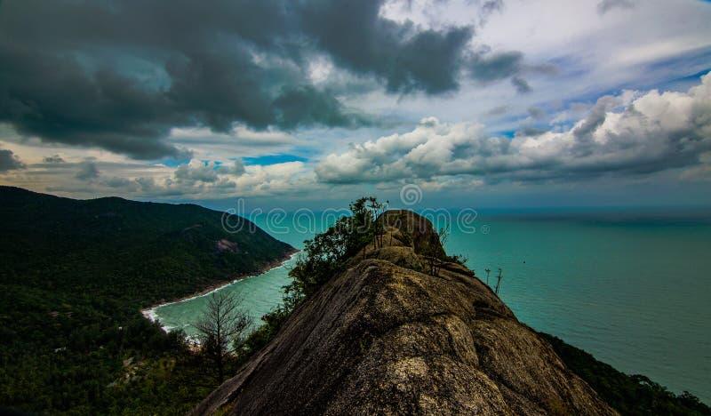 Ponto de vista Koh Phangan fotografia de stock royalty free
