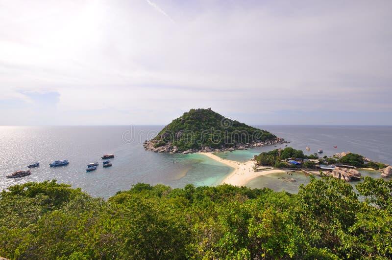 Ponto de vista Koh Tao imagens de stock royalty free