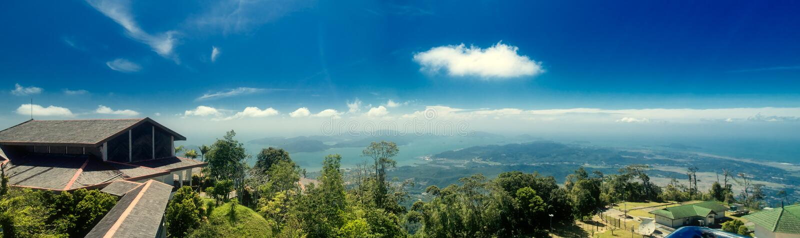 Ponto de vista no console de Langkawi. Malaysia foto de stock royalty free