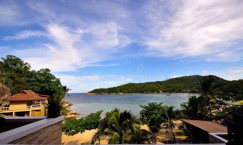 Ponto de vista privado em Koh Tao fotografia de stock royalty free