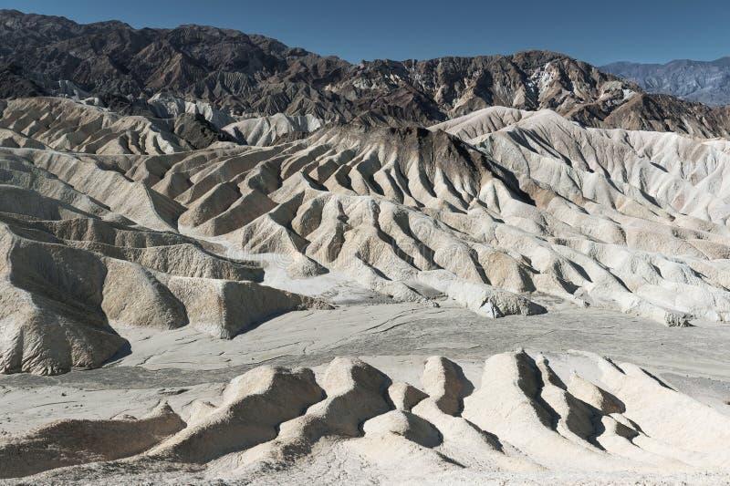 Ponto de Zabriskie, parque nacional de Death Valley fotos de stock royalty free