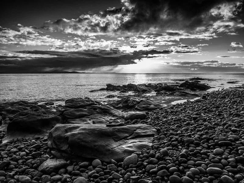 Ponto do abrigo, ilha de Vancôver fotografia de stock