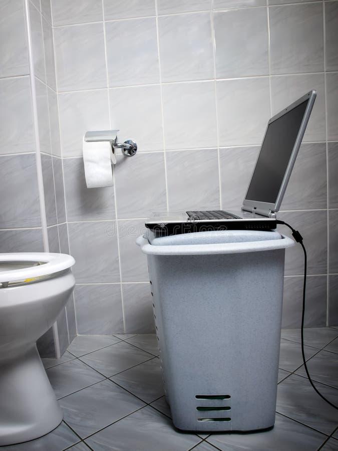 Ponto do Internet do WC imagem de stock royalty free