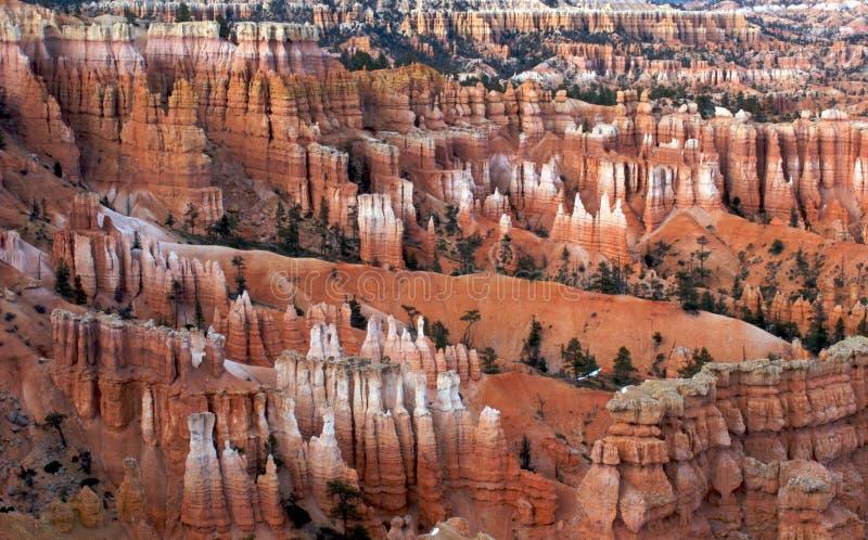 Ponto do por do sol, parque nacional da garganta de Bryce, Utá imagens de stock royalty free