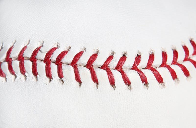 Ponto do vermelho da esfera do basebol imagens de stock