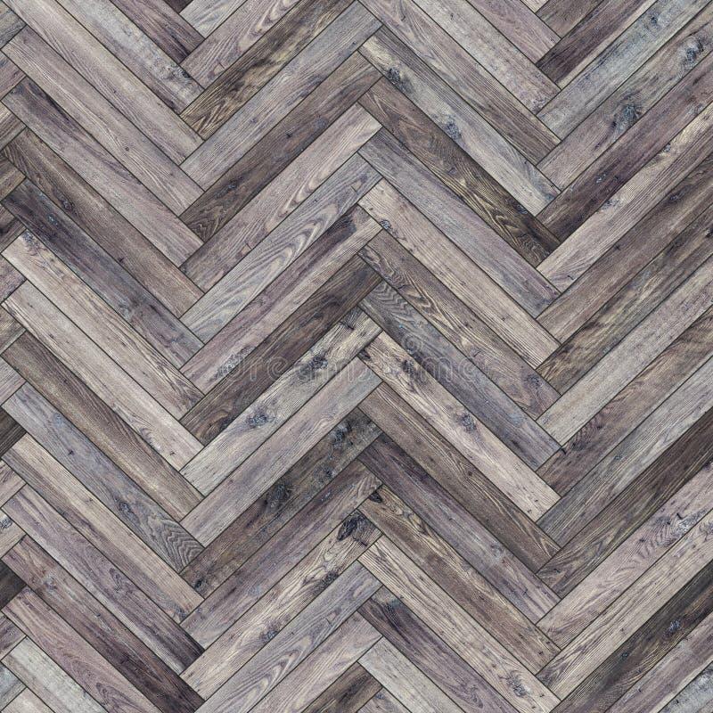 Ponto morto de madeira sem emenda de desenhos em espinha da textura do parquet imagem de stock