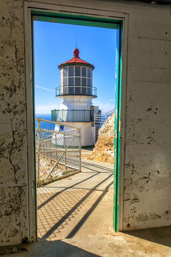 Ponto Reyes Lighthouse fotos de stock