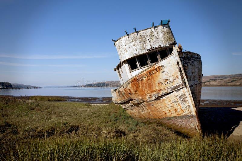 Ponto Reyes Ship foto de stock royalty free
