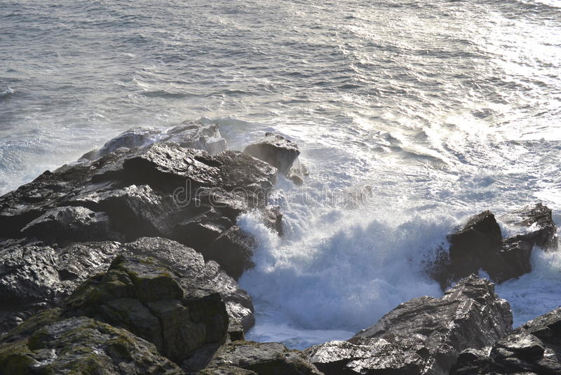 Ponto St Ives do lagarto foto de stock
