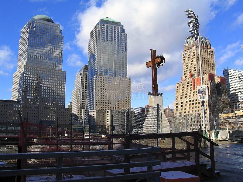 Ponto zero, NYC imagens de stock