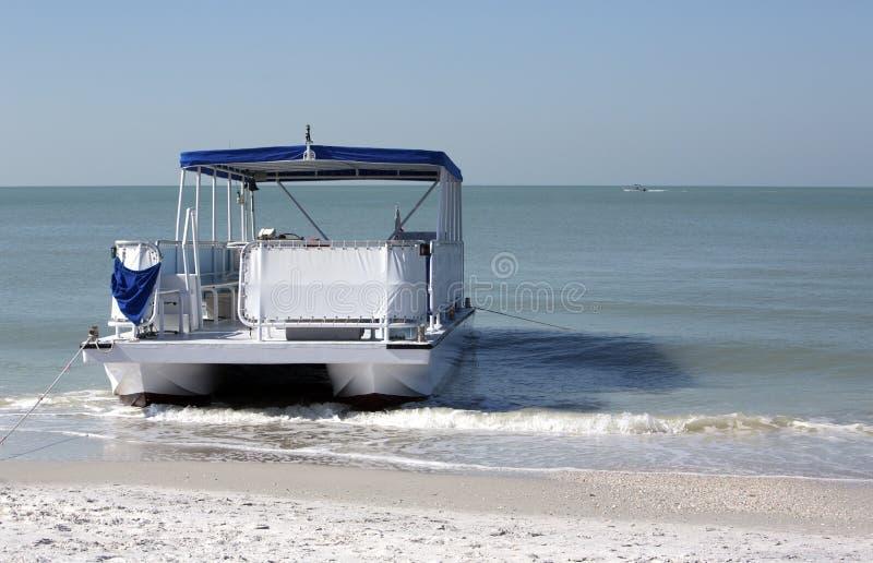 Pontoon Boat Royalty Free Stock Photos