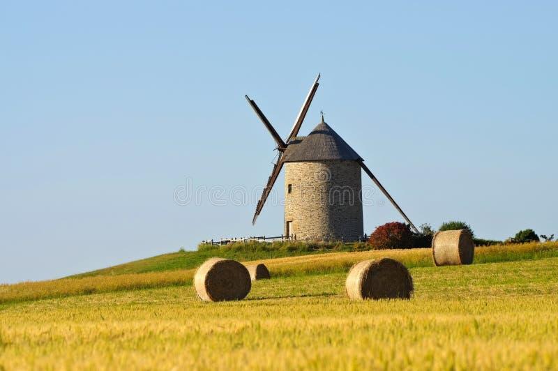 Pontorson Moulin de Moidrey en Normandie image libre de droits