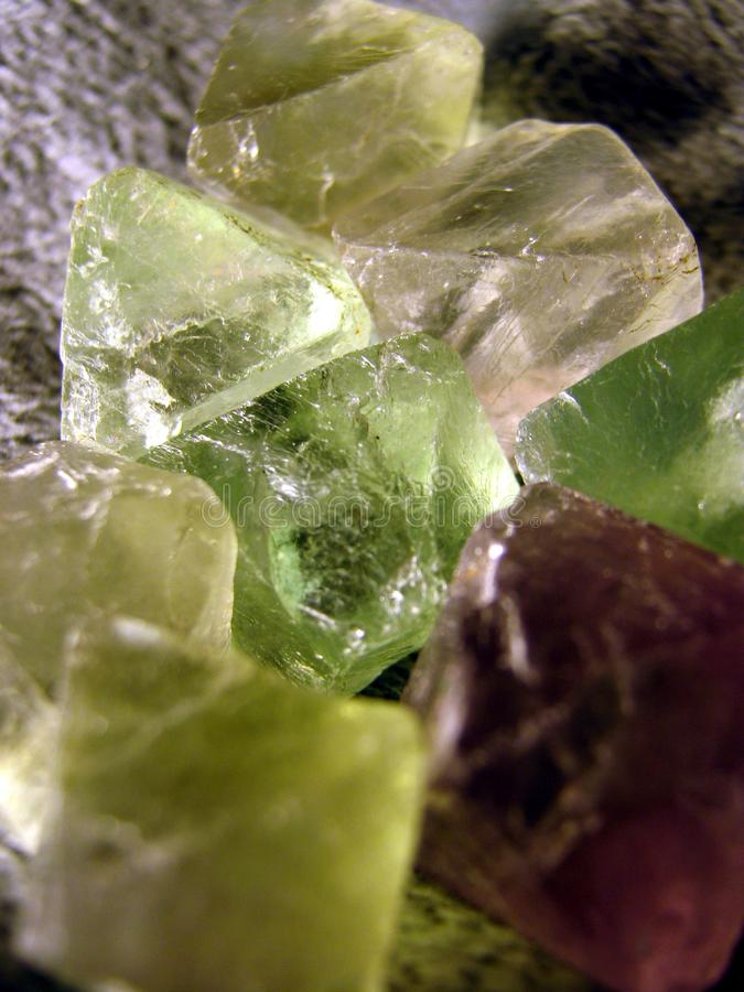 Pontos da fluorite foto de stock