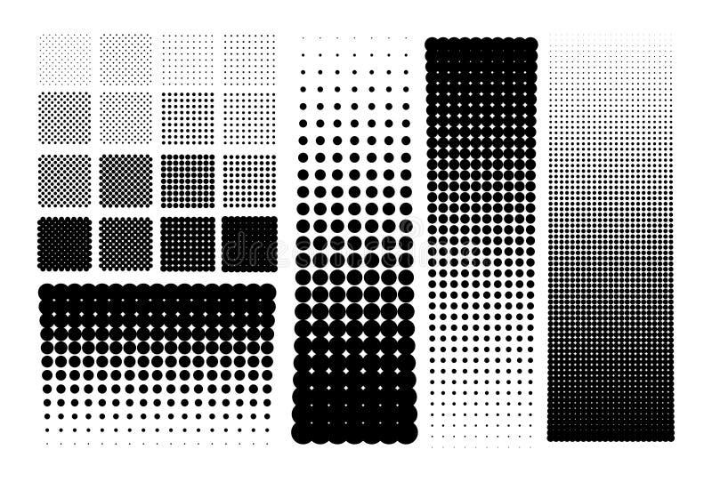 Pontos das reticulações ilustração stock