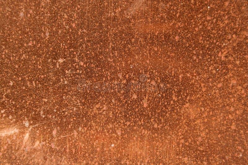 Pontos de cobre fotos de stock