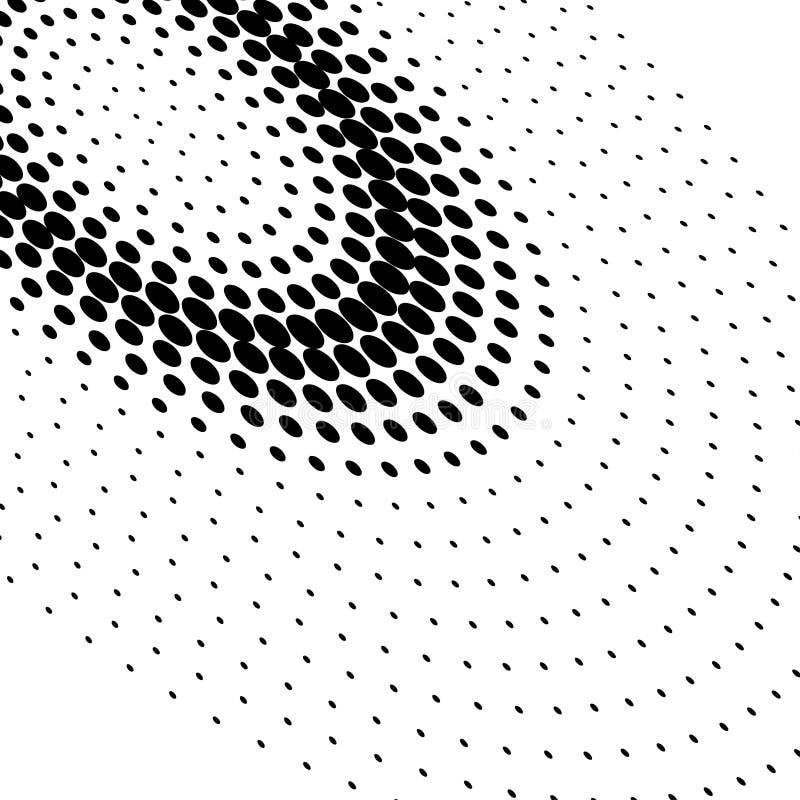 Pontos de intervalo mínimo ilustração do vetor