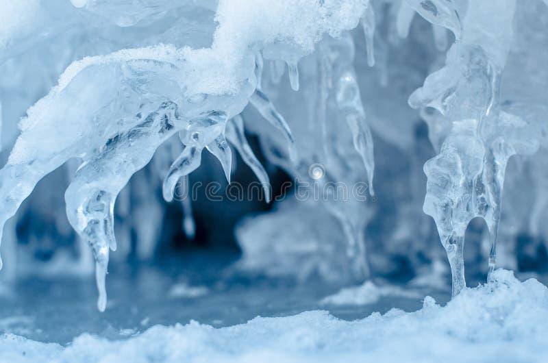 Pontos do gelo. fotografia de stock