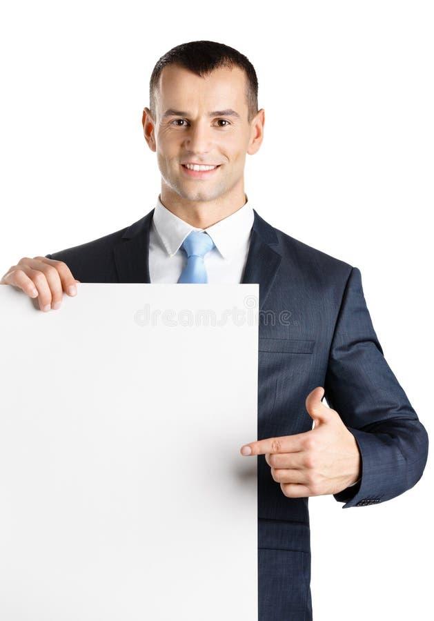 Pontos do gerente no copyspace de papel imagem de stock royalty free